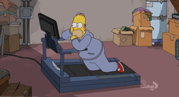 Use your treadmill time to watch something fun and/or educational.
