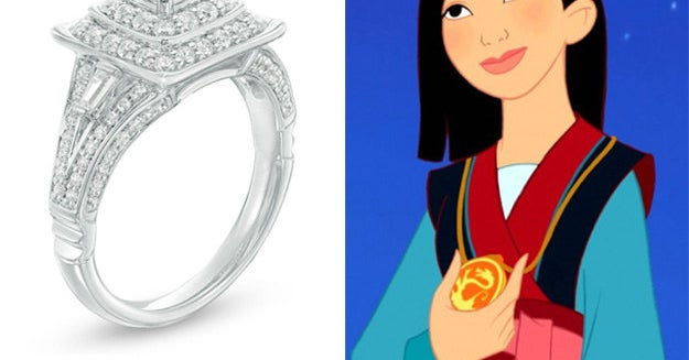 I Just Learned That There Are Disney Princess Engagement Rings And They're SO PRETTY