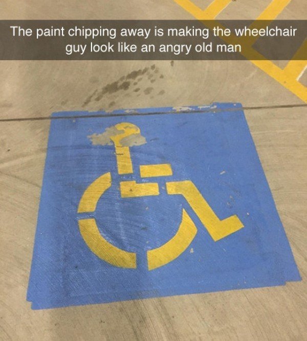 Old Man Wheelchair: