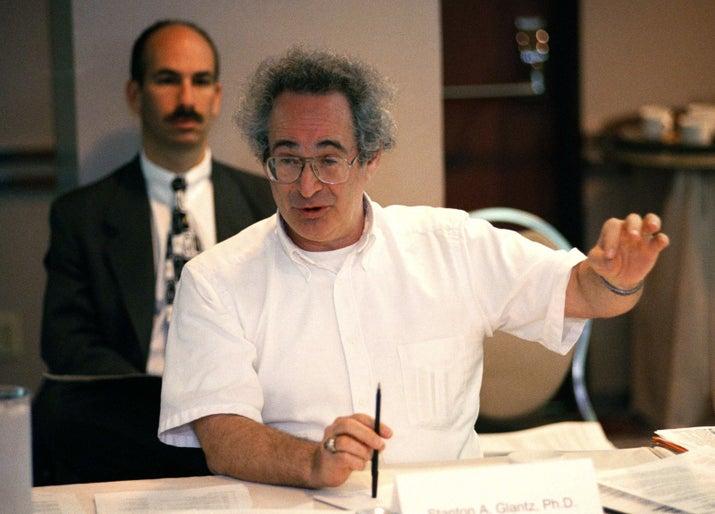 Stanton Glantz in 1998.