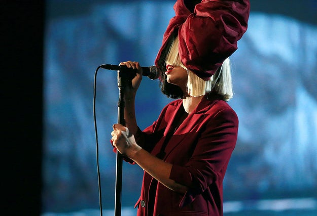 This resulted in Sia stepping away from the limelight and donning her now iconic oversized wig.