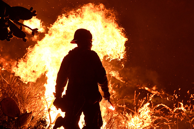 Another Massive Wildfire Leaves California Residents Scrambling To Escape