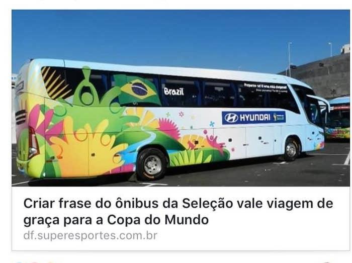 16 Frases Que Poderiam Ser O Lema Do Brasil No ônibus Para A Próxima