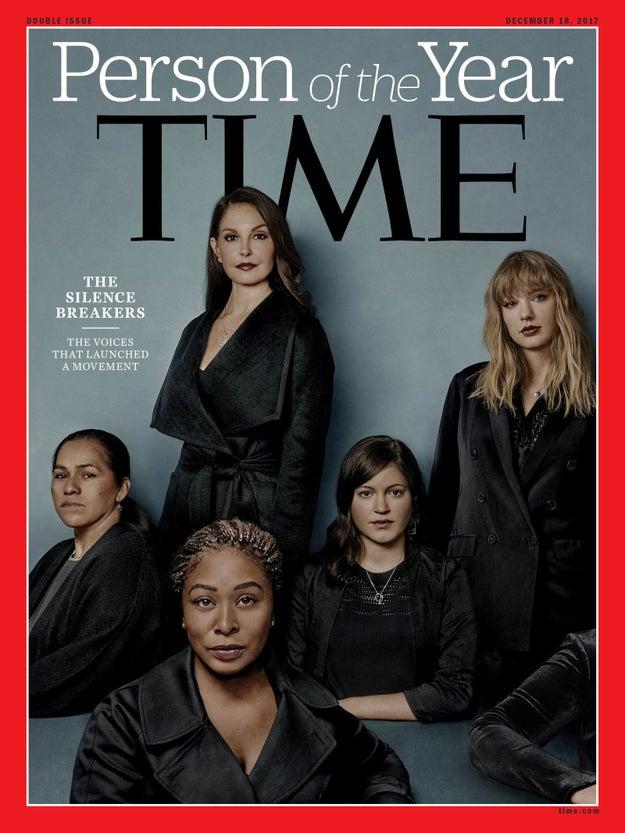 """On Wednesday, Time magazine announced that its 2017 Person of the Year would be the """"Silence Breakers"""", a group of women and men who kickstarted a global conversation about the issue of sexual harassment and assault."""