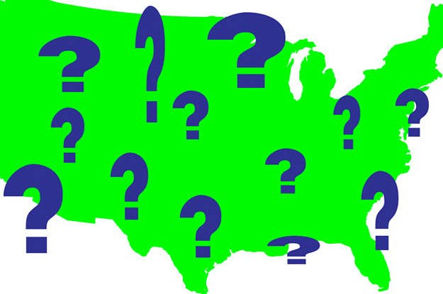Geography Quiz: How Many Countries Can You Find On A Map?