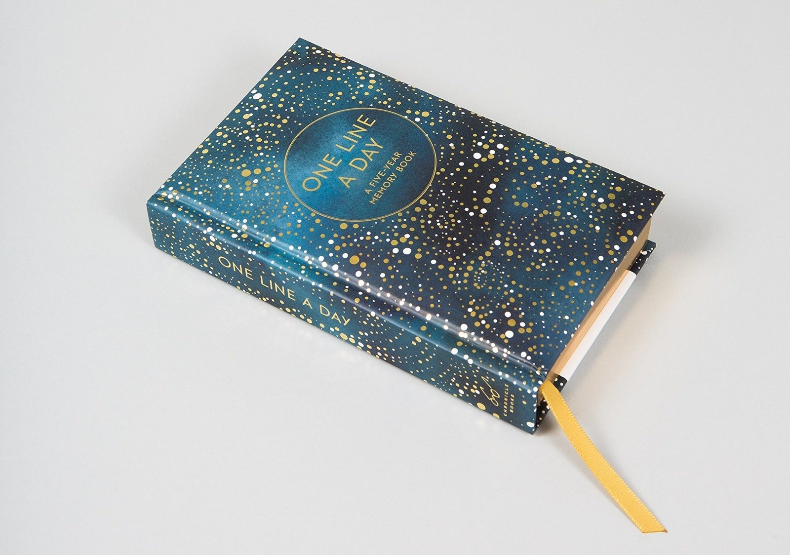 It's gorgeous AND durable, so they'll actually want to use it for the full five years. The pages also also gilded. FANCY!Get it from Amazon for $13.77 or Barnes and Noble for $16.95.