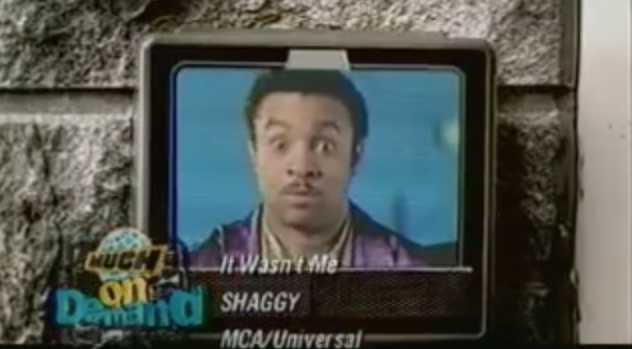 shaggy in the music video