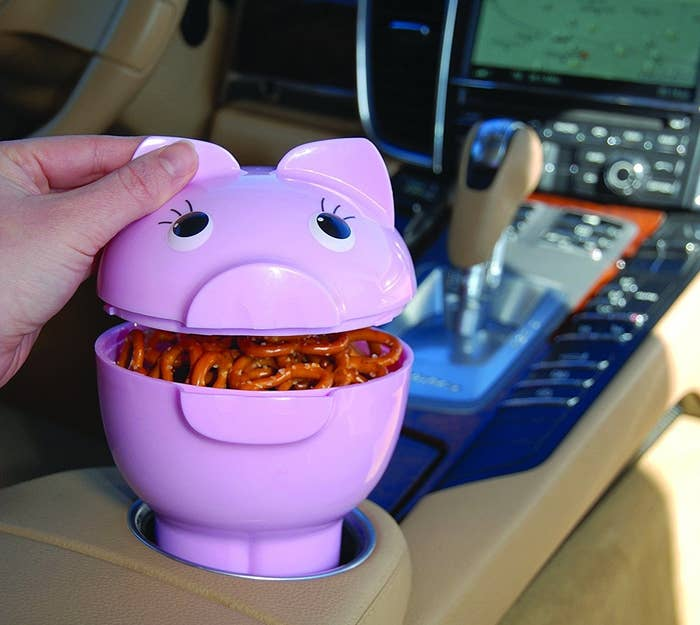 1 A Cute Piggy Container To Keep Snacks Fresh And Within Reach