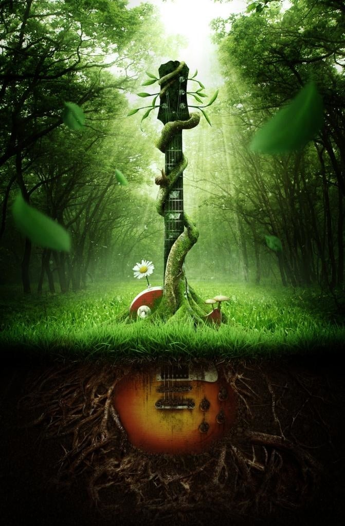 Music has its roots in Nature.
