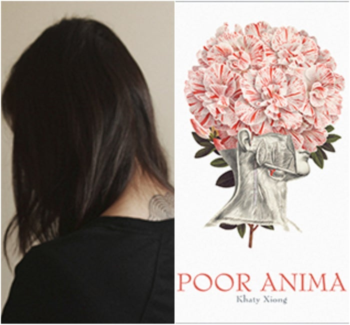Khaty Xiong was born to Hmong refugees from Laos and is the seventh daughter of fifteen brothers and sisters. She is the author of debut collection Poor Anima (Apogee Press, 2015), which is the first full-length collection of poetry published by a Hmong American woman in the United States. This collection was nominated for a 2017 Elgin Award, the first collection of poetry by a Hmong writer to receive that distinction.In 2016, she received an Ohio Arts Council Individual Excellence Award in recognition of her poetry. Xiong's work has been featured in The New York Times and How Do I Begin?: A Hmong American Literary Anthology (Heyday, 2011), as well as on the Poetry Society of America's website. She lives in Gahanna, Ohio.