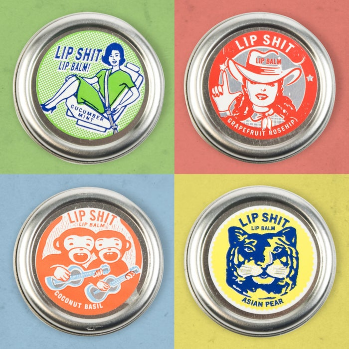 Despite the terse name, these balms are surprisingly classy looking with retro designs. They also have intriguing flavors like coconut and basil, grapefruit and rosehip, and lemonade and hibiscus.Get it from Firebox for $8.09 (available in five flavors) or Blue Q for $6.99 (available in 12 flavors).