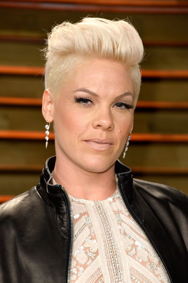 In an interview with the Daily Mirror, Pink opened up about an experience she had with a male comedian.