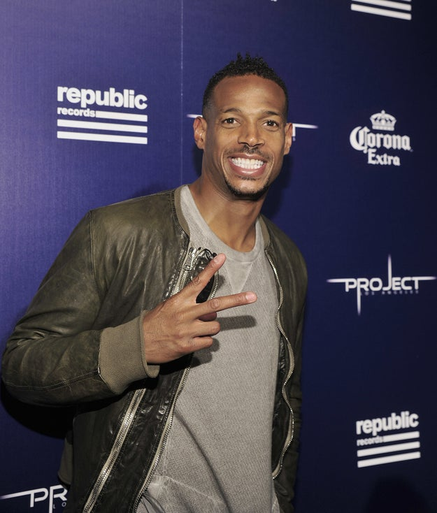 According to the Daily Mirror, Pink is referring to comedian Marlon Wayans.