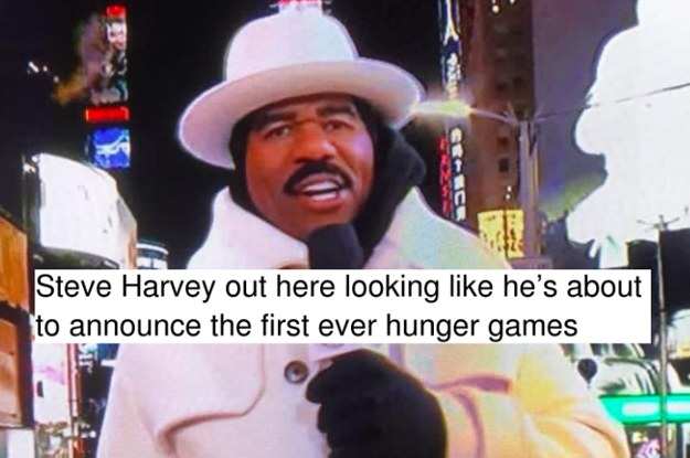16 Things Steve Harvey Looked Like On New Year's Eve
