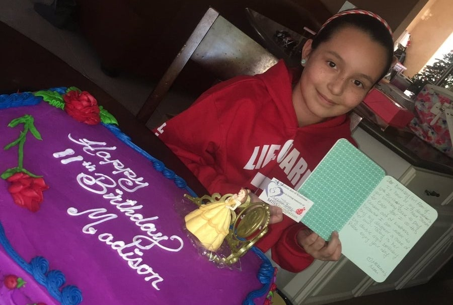 """It did make it kind of a little bit extra special just to be appreciative of my younger sister and to really be thankful for what I have,"" Jauregui said of the birthday cake surprise. ""She felt really loved and really blessed."""