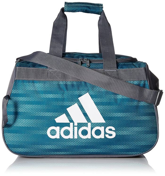 """Promising review: """"I teach group fitness classes and sometimes need to pack multiple changes of clothes as well as other items for my time at the gym. I was initially afraid this bag wouldn't be big enough to hold everything I would need for a long day at the gym. Turns out I was wrong. It holds all I need and then some. Very roomy."""" —AnniePrice: $24.95. Available in 21 colors."""