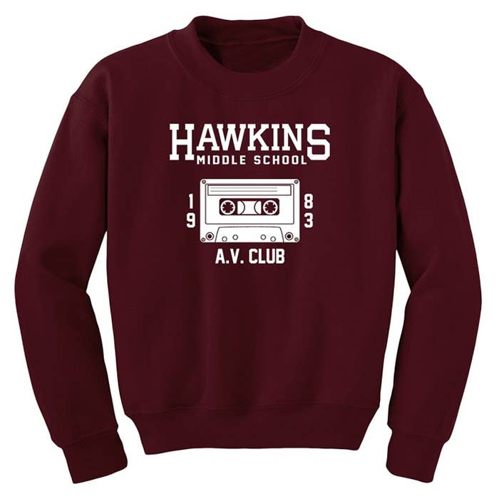 04ef461c69b135  quot My Stranger Things sweatshirt is hands down the thing in my closet  that makes