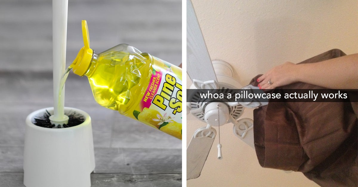20 Smart Cleaning Tricks That Are Actually Practical