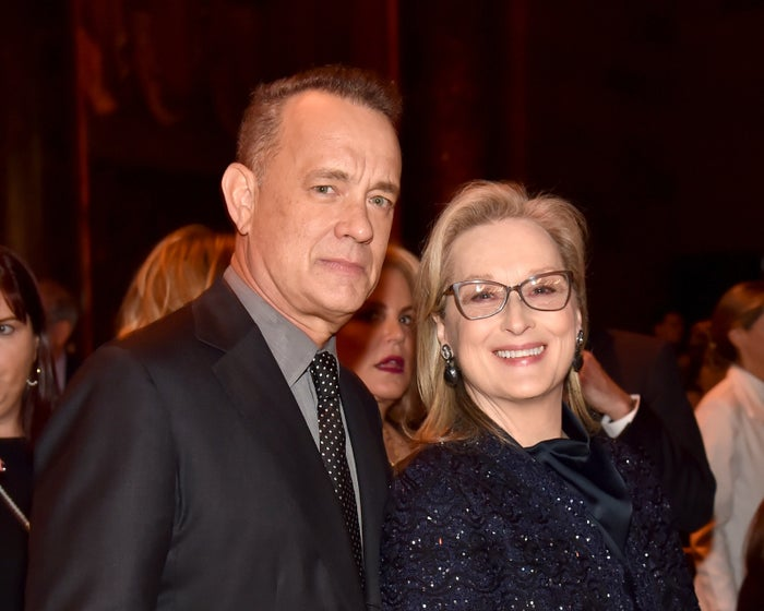 """""""[Streep] helps brings out the character of everyone else on the screen. Can a volleyball do that? Not even if the volleyball was a stable genius,"""" he said, mocking President Trump's description of himself from Saturday."""