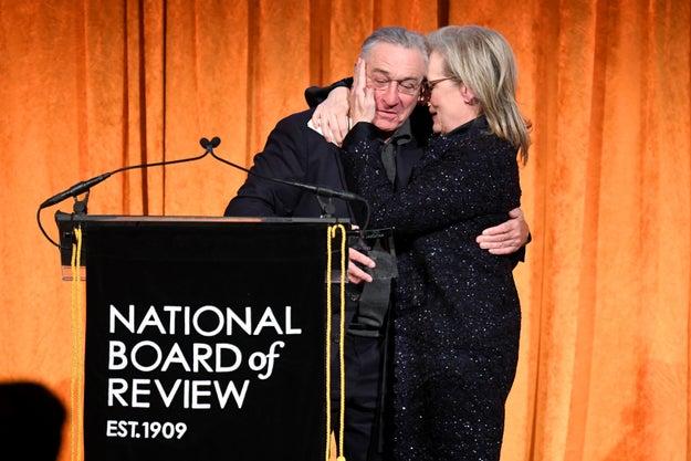 Robert De Niro Absolutely Went After Trump At An Awards Show