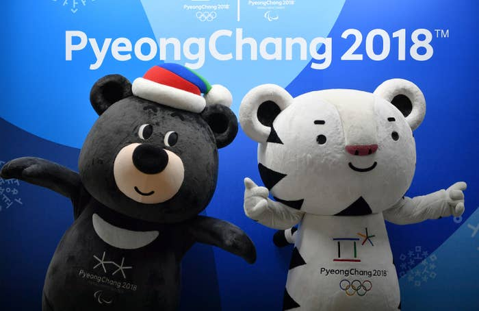 A bear and a tiger are the mascots for the Pyeongchang 2018 Winter Olympic and Paralympic Games that follow.