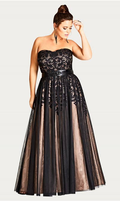 f46bba528b1 5. City Chic — a plus-size purveyor offering some insanely cute gowns sure  to make the night memorable.