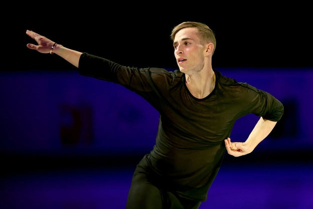 In case you missed it, figure skater Adam Rippon just became the first openly gay man to qualify for Team USA at a Winter Olympics.