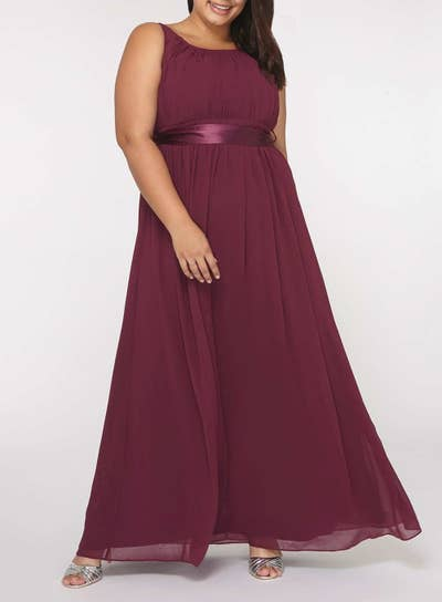 2856d997a3 16. Dorthy Perkins — a retailer offering traditional gowns in straight,  petite, plus, tall, and maternity sizes.