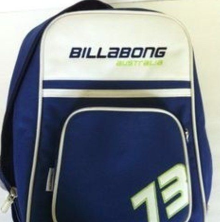 And every year you'd beg your parents for a new Billabong or Roxy backpack.