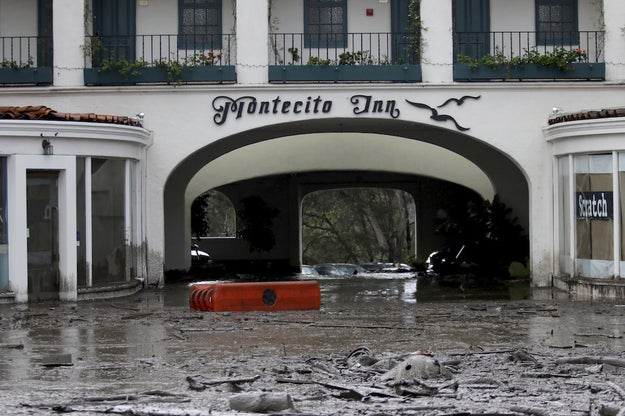 Thousands of homes and businesses have been either damaged or destroyed by the mudslides.