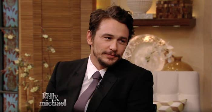 """In a 2014 interview on Live With Kelly and Michael, Franco said he was """"embarrassed"""" about the situation. """"I guess I'm just a model of how social media is tricky,"""" he said. """"It's a way people meet each other today, but what I've learned – I guess just because I'm new to it – is you don't know who's on the other end ... I used bad judgment, and I learned my lesson."""""""