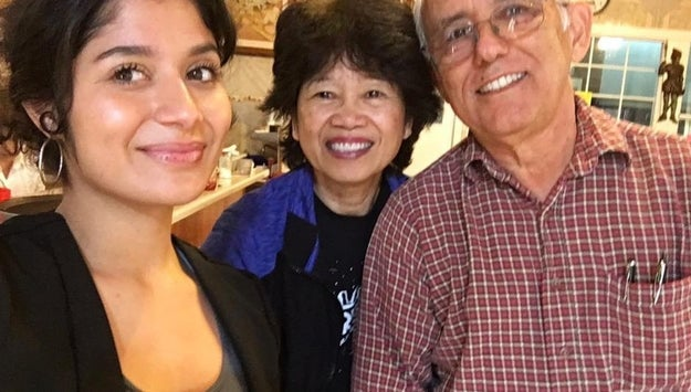 And Jackie posted a pic of herself with a couple who traveled from nearly an hour away to visit her dad's bakery.