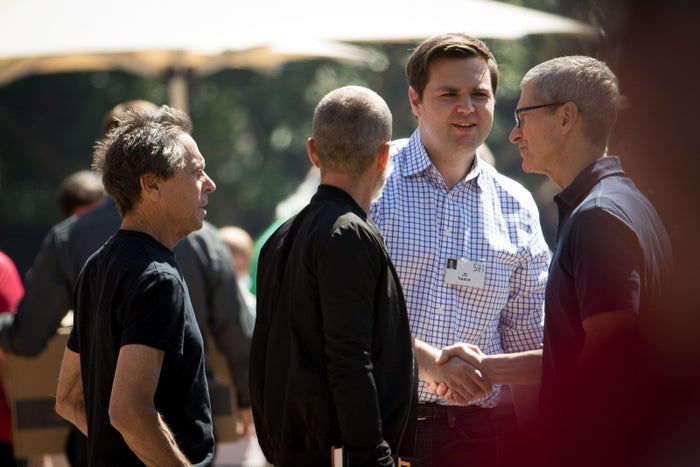 J.D. Vance (second from right)