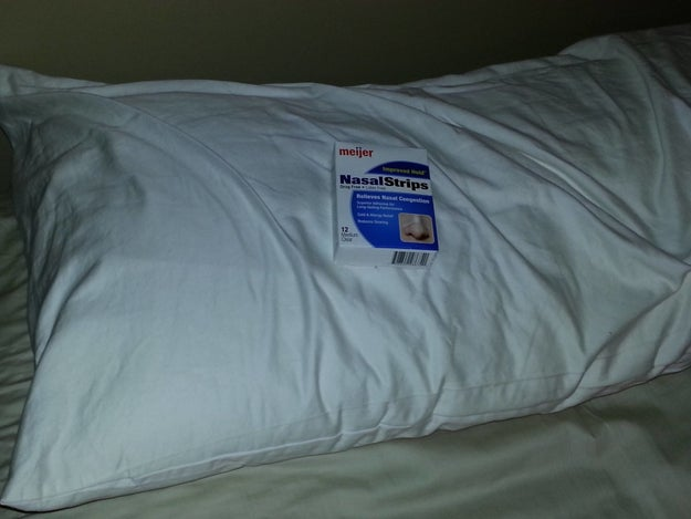 This husband, who told his wife he left a present for her on her pillow.