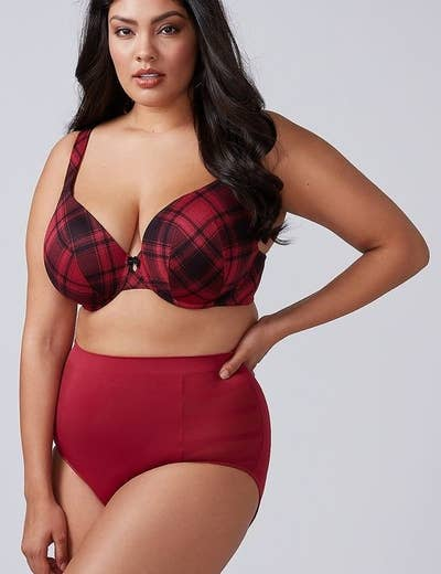 0f91f1692 7. Cacique offers a wide selection of plus-size lingerie in as many fun  patterns and styles as you can imagine.
