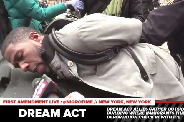 Several People Protesting The Deportation of An Immigrant Rights Advocate Were Arrested In New York City