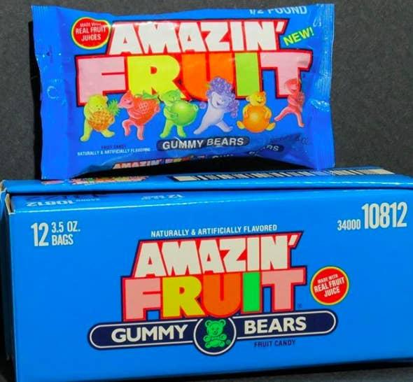 What they tasted like: An elite fruit snack + gummy bear hybrid.