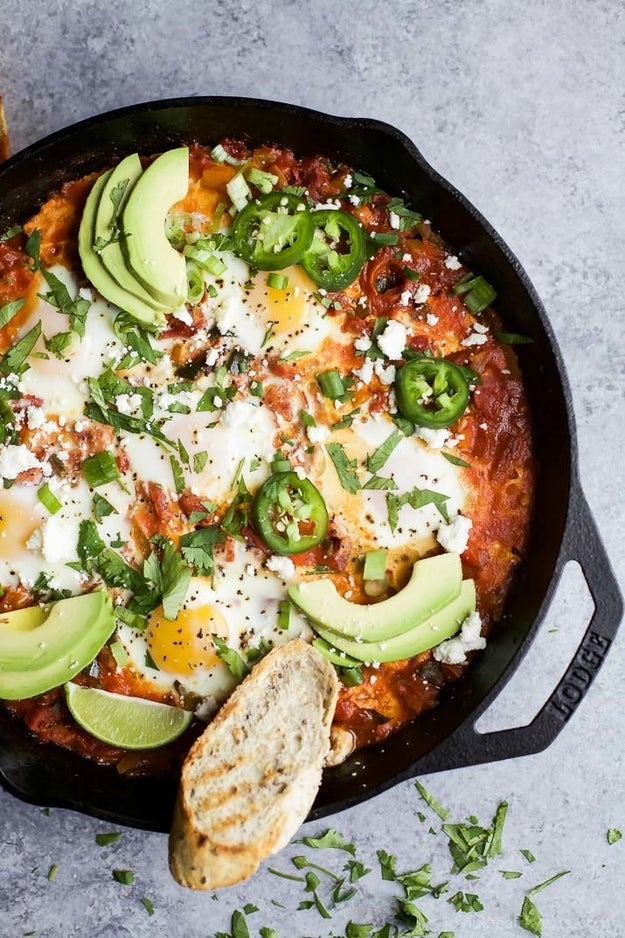 One-Pot Mexican Shakshuka