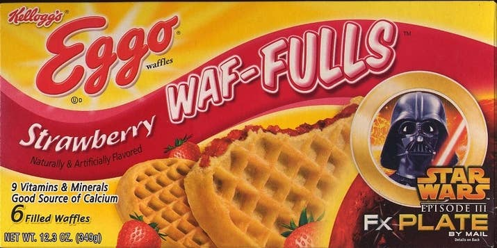 What they tasted like: A strawberry jelly sandwich with waffles instead of bread.