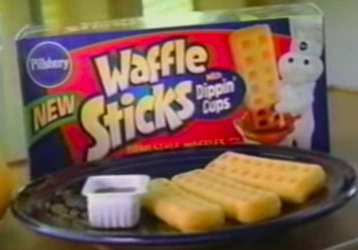 What they tasted like: Literally just waffles, but being in fun, dippable form somehow made 'em better.