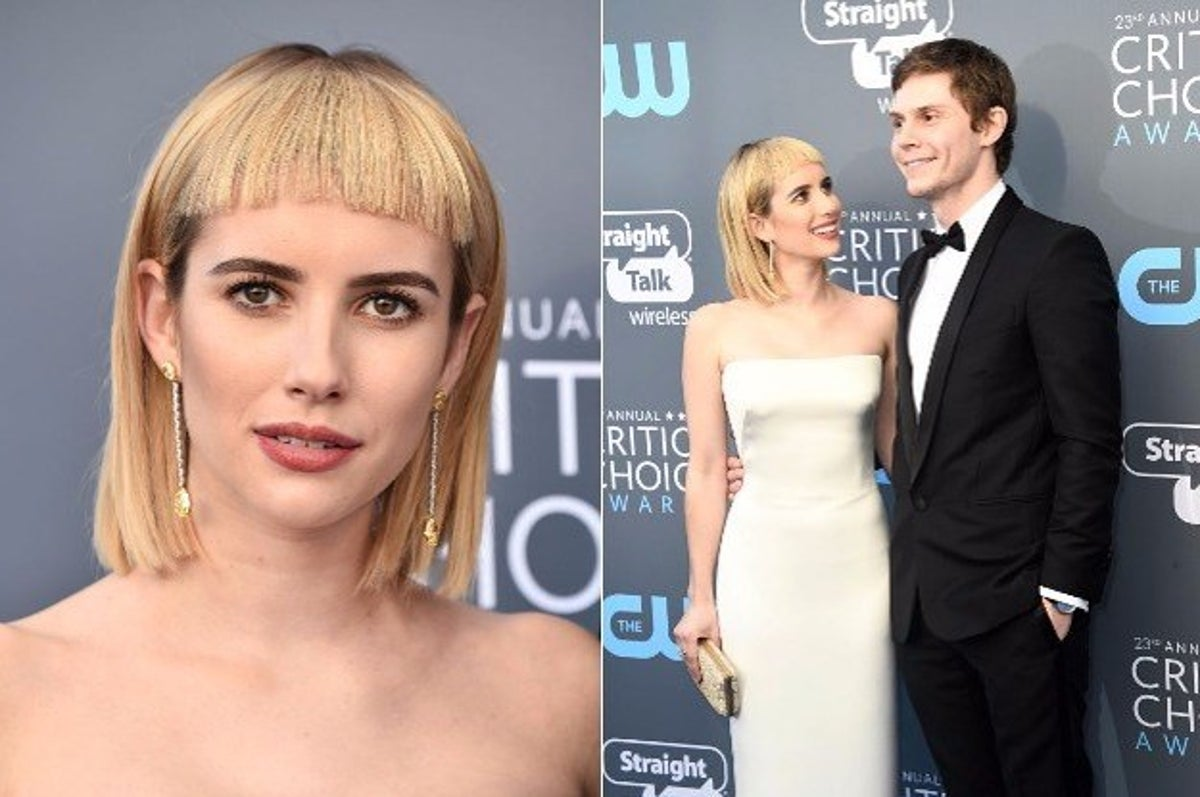 Emma Roberts Just Got Bangs And People Are Being Pretty Blunt About Them