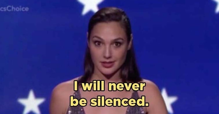 "Gal Gadot Gave A Powerful Speech About ""Wonder Woman"" And Equality"