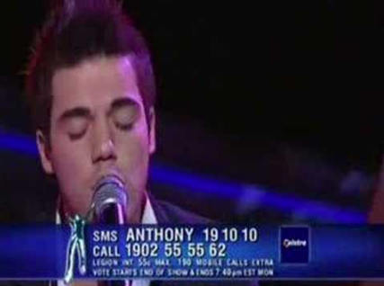 You'd SMS vote for your faves on Australian Idol.