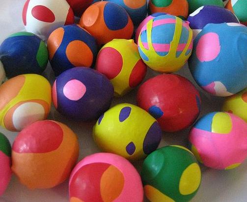 A random rubber stress ball.