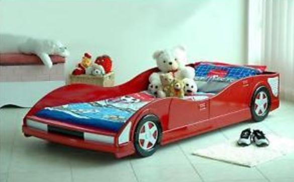 A car bed.