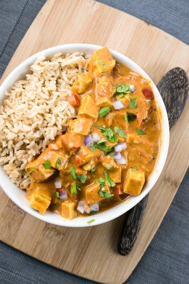 Crock Pot Tofu Tikka Masala