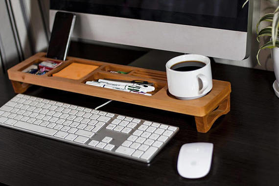 A cool desk organizer
