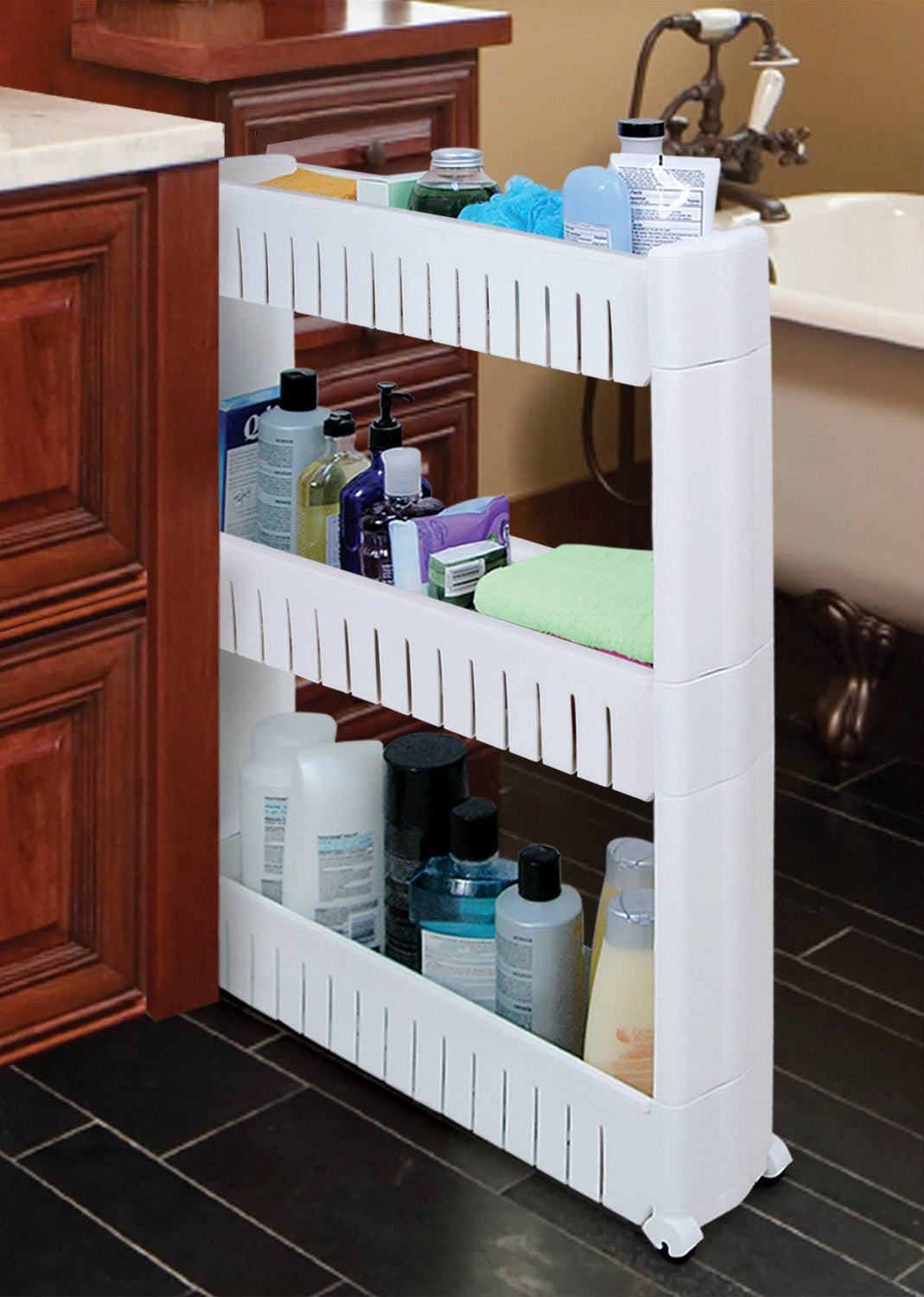 27 Ridiculously Clever Storage Ideas For Your Bathroom