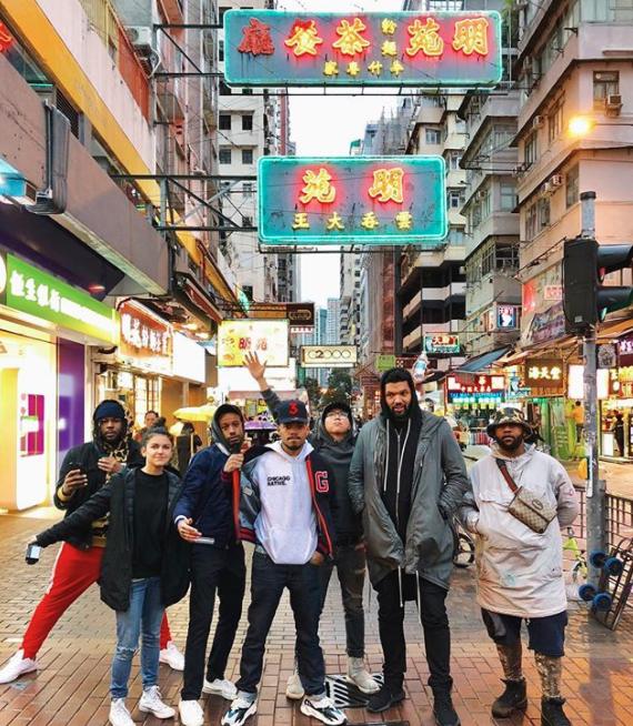 Chance The Rapper enjoyed Hong Kong.