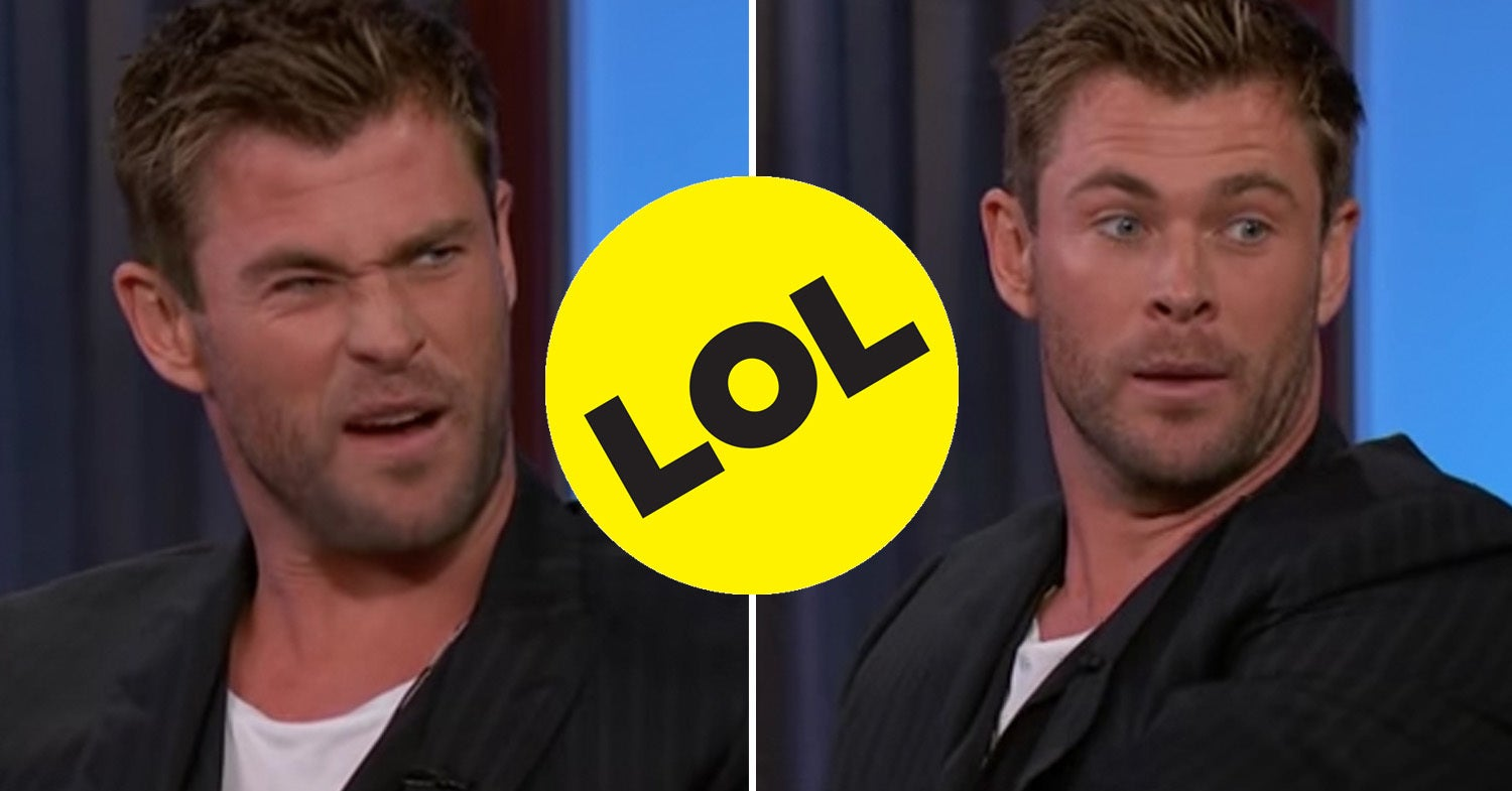 Chris Hemsworth Sharing This Story About His Son Injuring Himself Is Honestly The Most Dad Thing You'll See All Week
